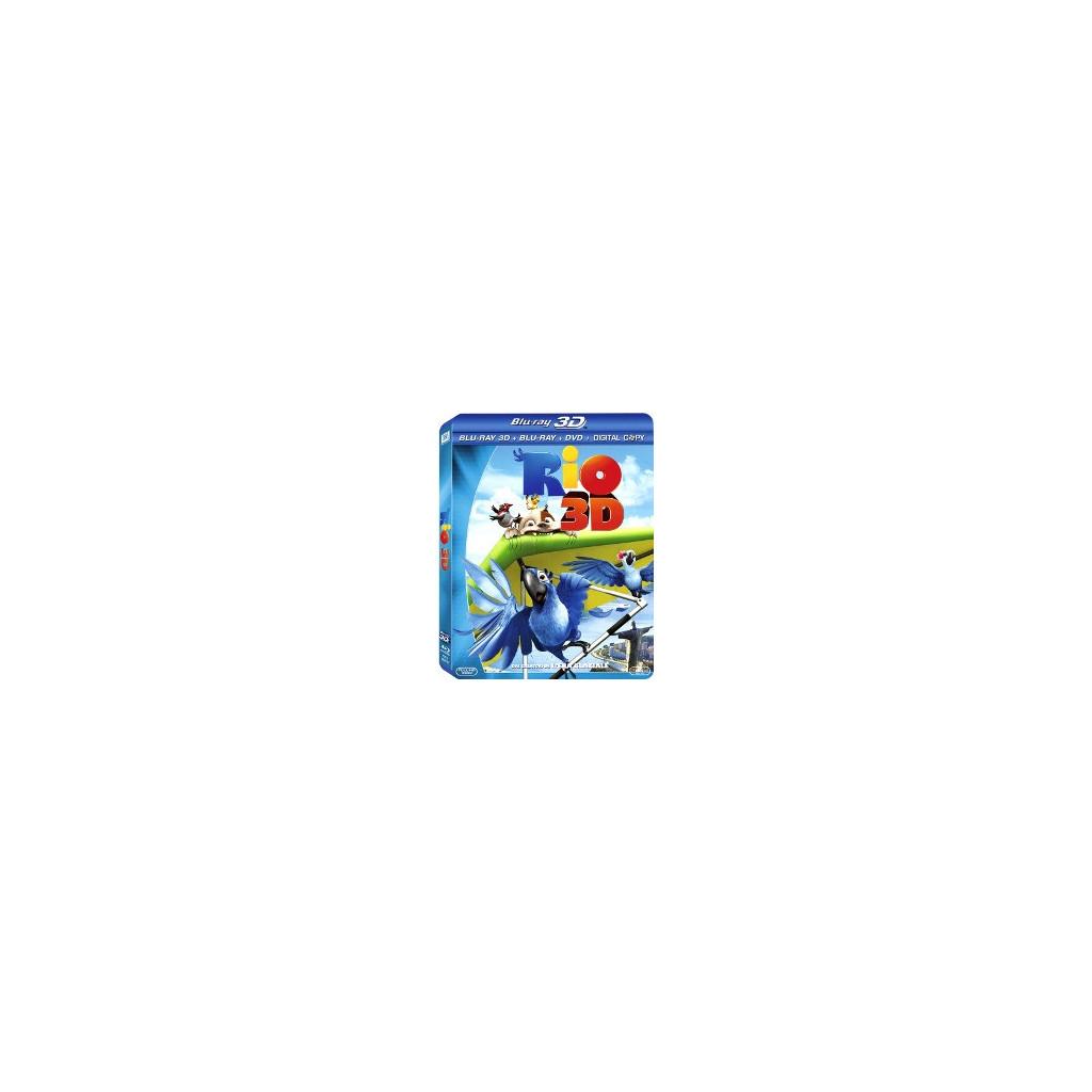 Rio (Blu Ray 3D + 2D)
