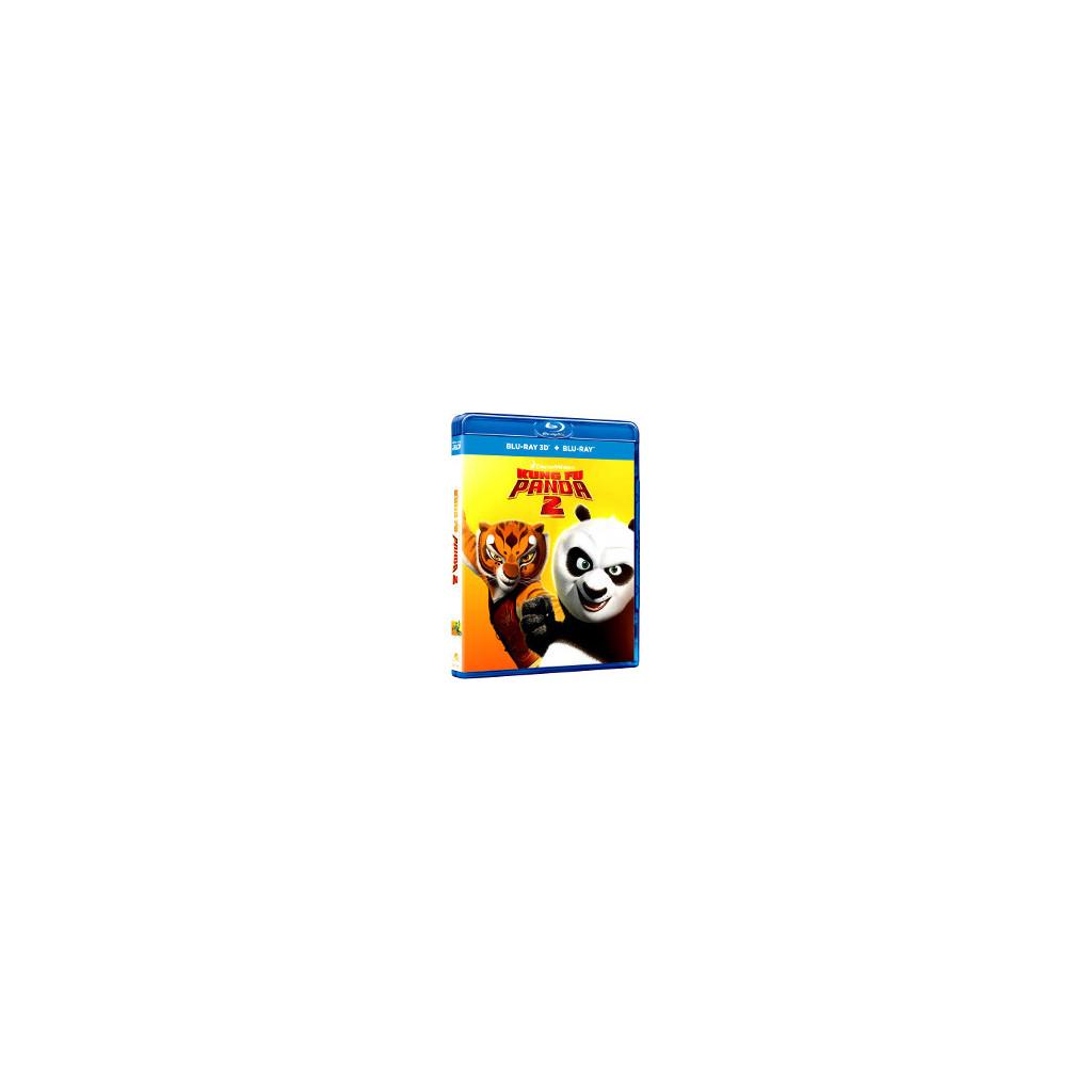 Kung Fu Panda 2 (Blu Ray 3D + Blu Ray)