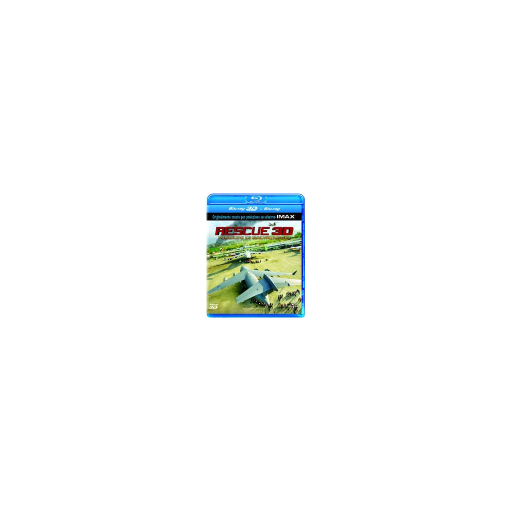 Rescue 3D (Blu Ray 3D + 2D)