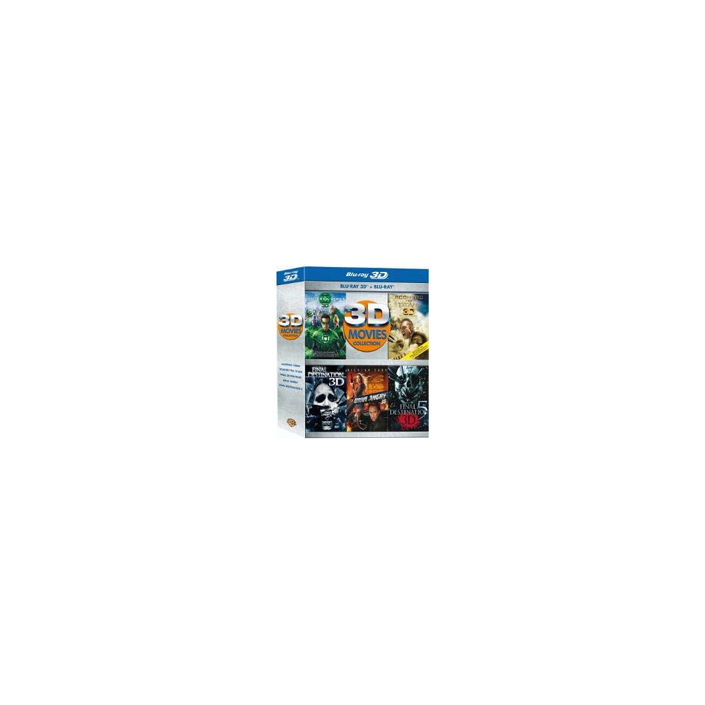Movies Collection (5 Blu Ray 3D)