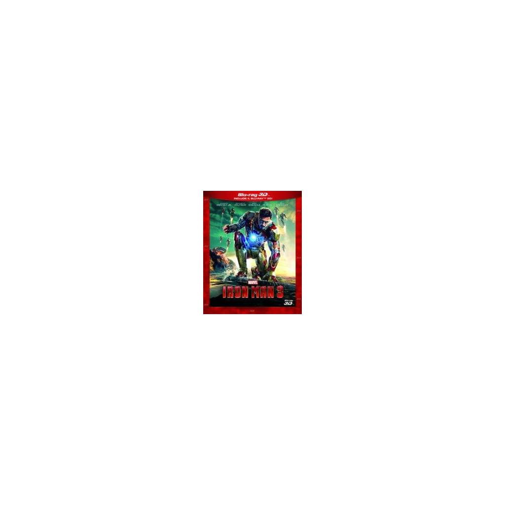 Iron Man 3 (Blu Ray 3D + Blu Ray 2D)