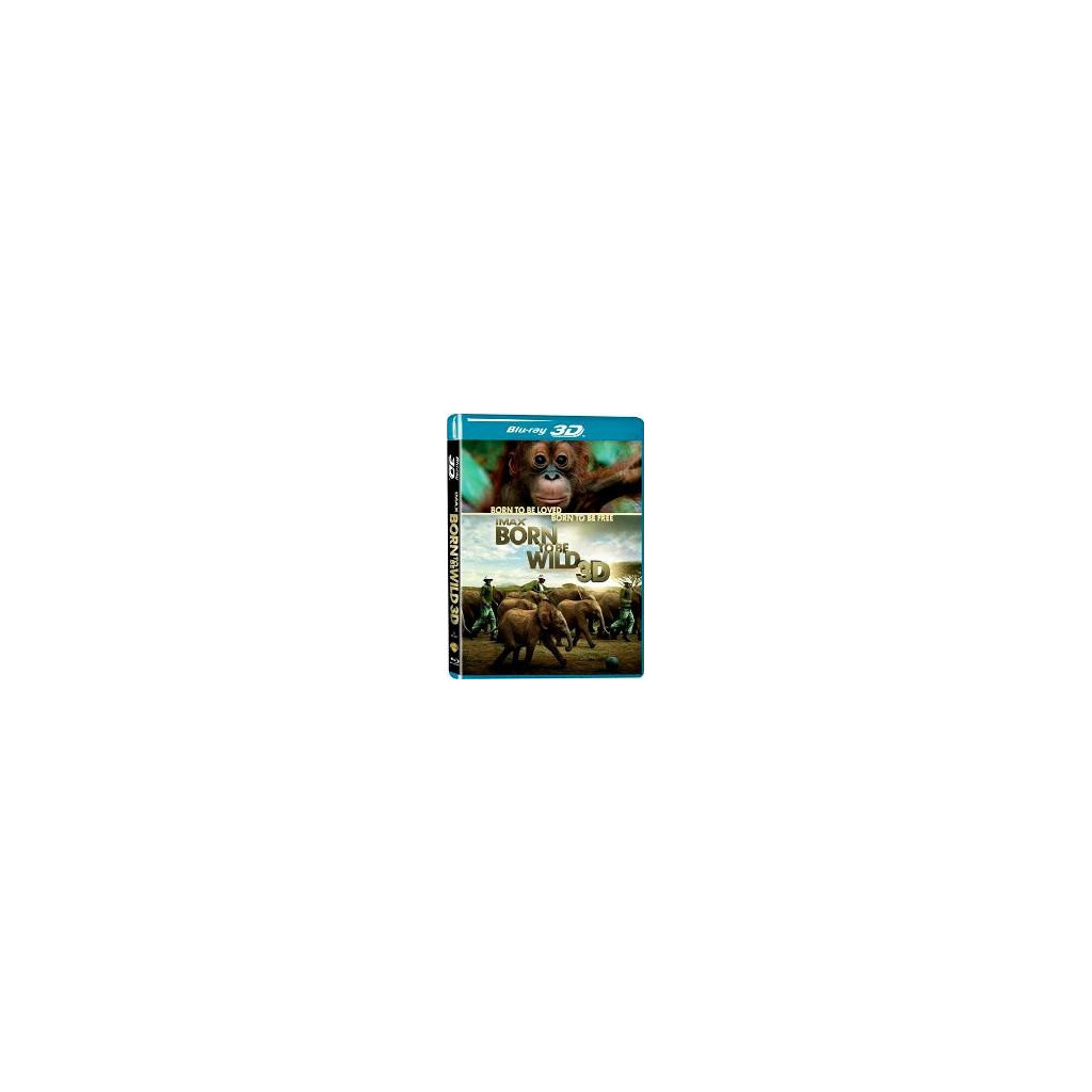 Imax - Born To Be Wild 3D (Blu Ray 3D)