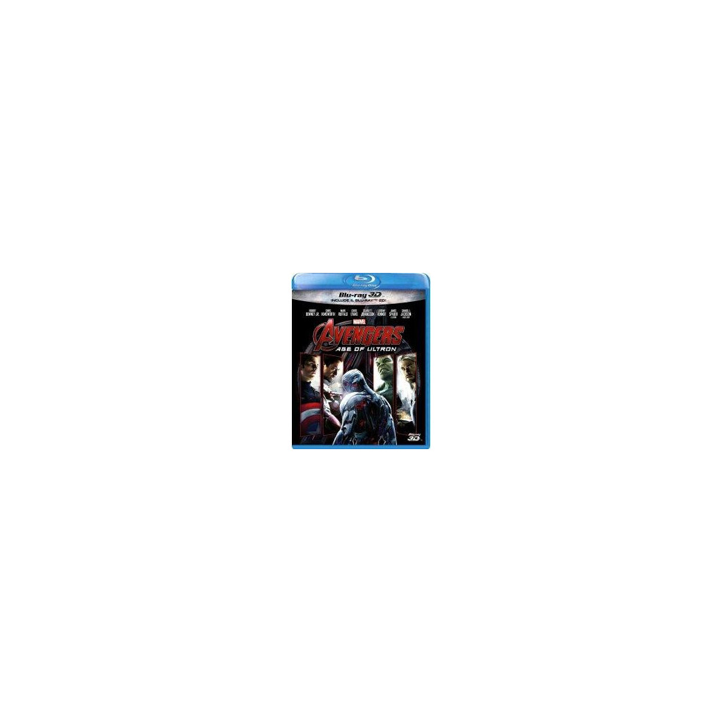 Avengers - Age Of Ultron (Blu Ray 3D...