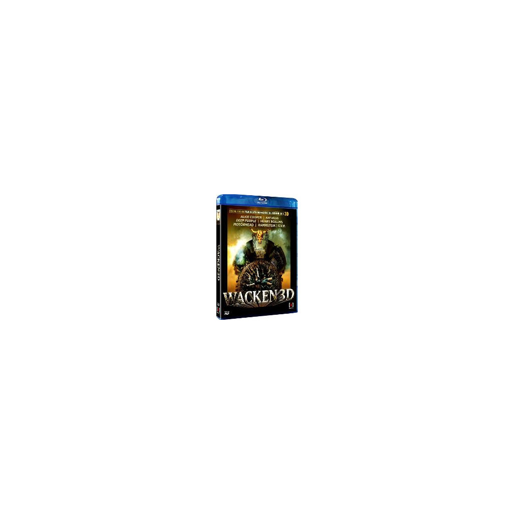 Wacken (Blu Ray 3D + Blu Ray)