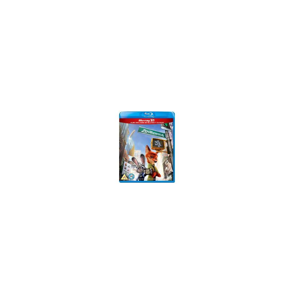 Zootropolis (Blu Ray 3D + Blu Ray)