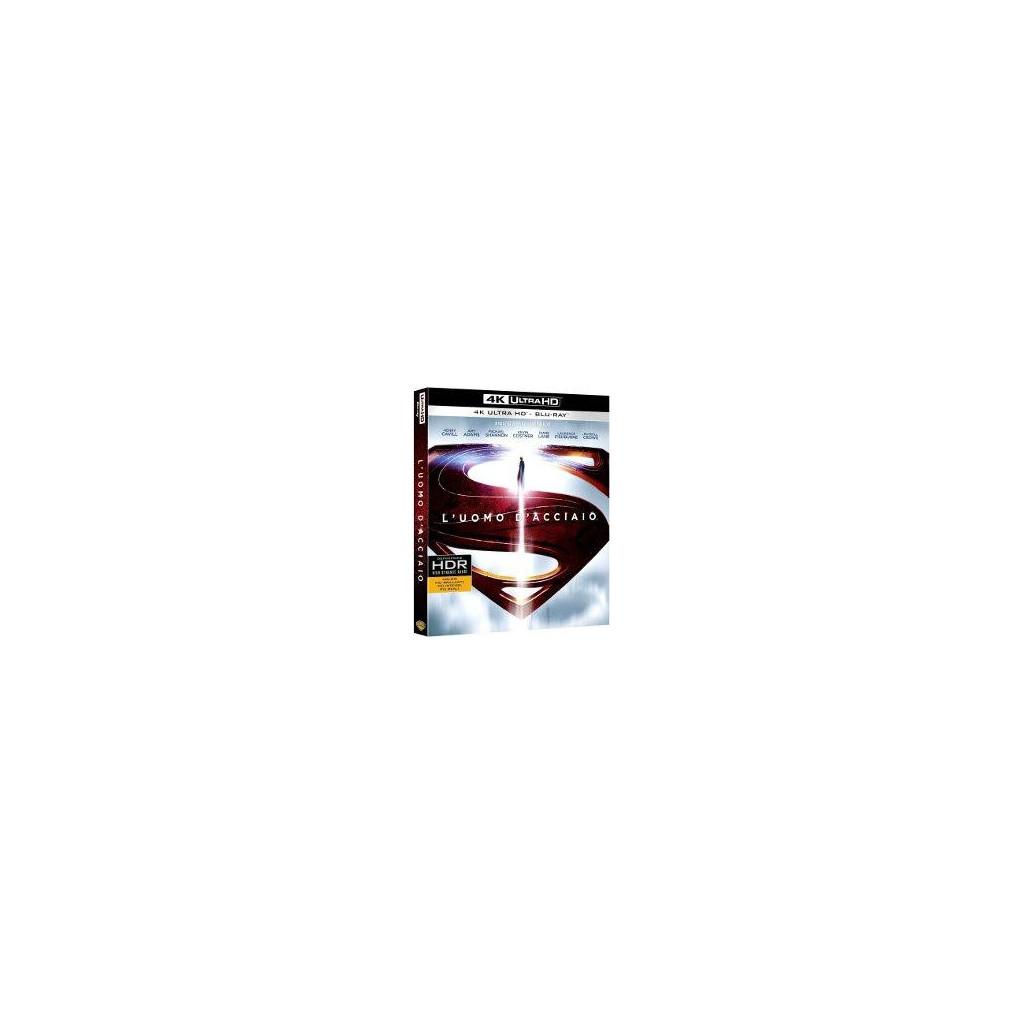 L'Uomo D'Acciaio (4K Ultra HD + Blu Ray)