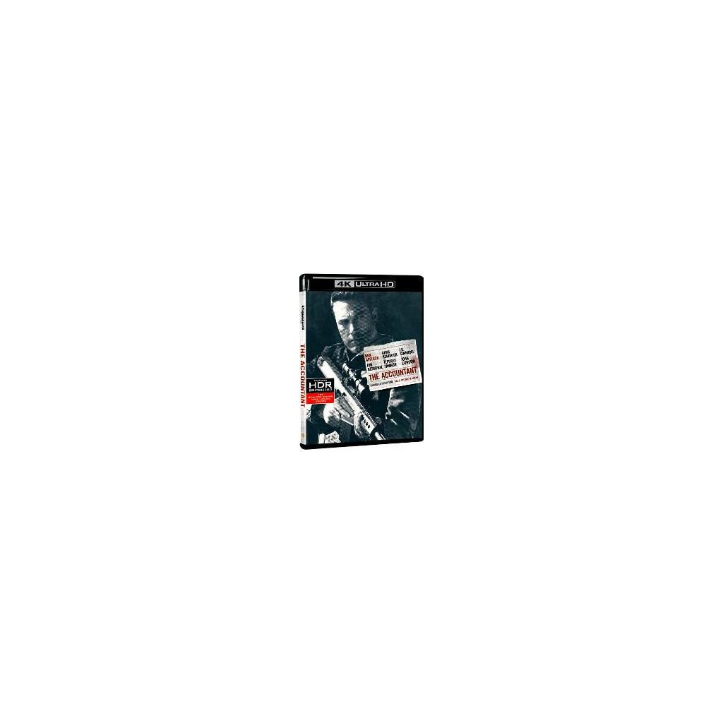The Accountant (4K Ultra HD + Blu Ray)
