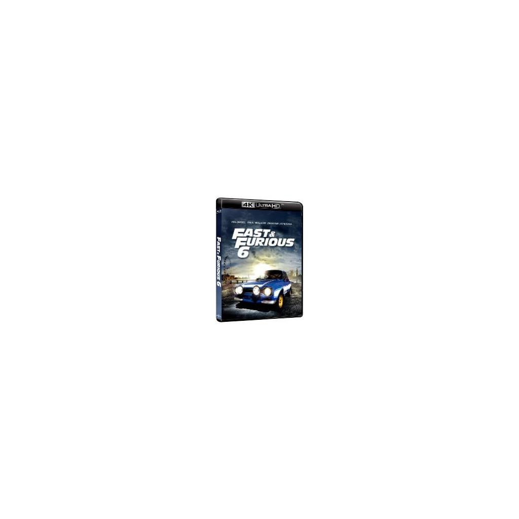 Fast and Furious 6 (4K Ultra HD + Blu...