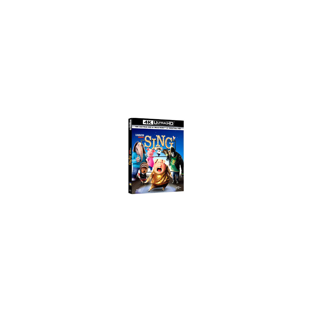 Sing (4K Ultra HD + Blu Ray)