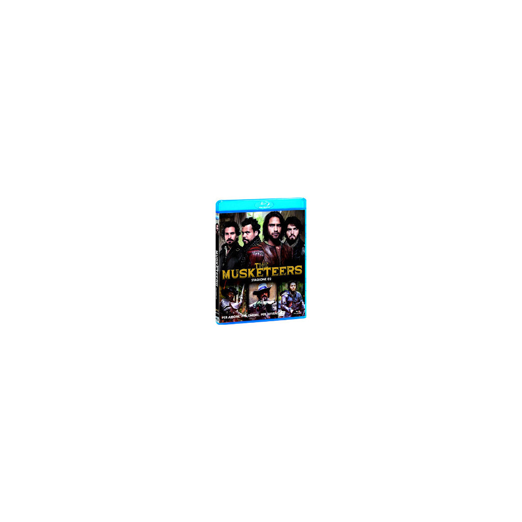 The Musketeers - Stagione 2 (Blu Ray)