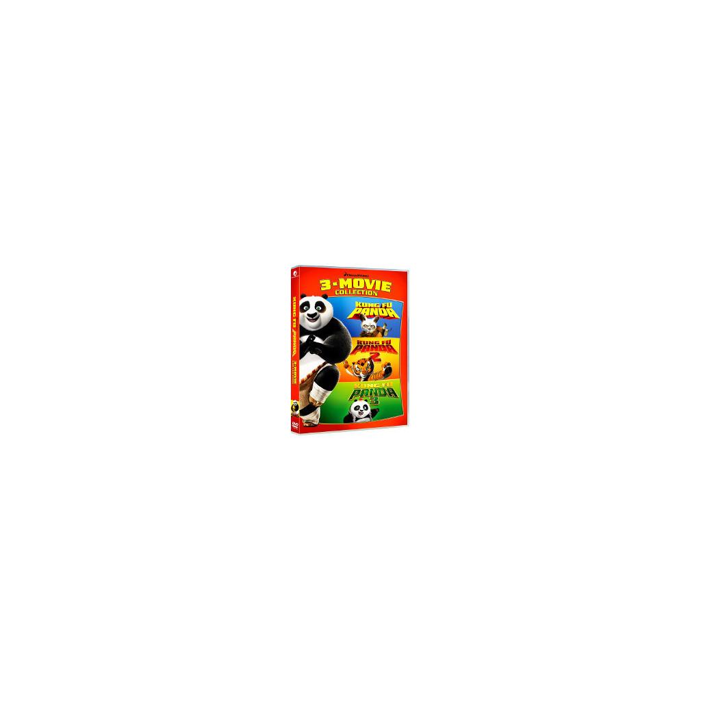 Kung Fu Panda 1-3 Collection (3 Dvd)