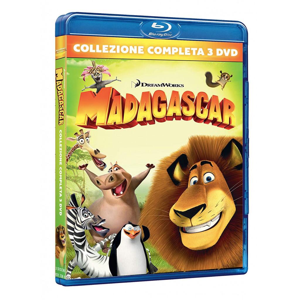 Madagascar - La Trilogia (3 Blu Ray)