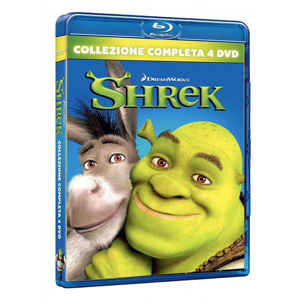 Shrek La Quadrilogia (4 Blu Ray)