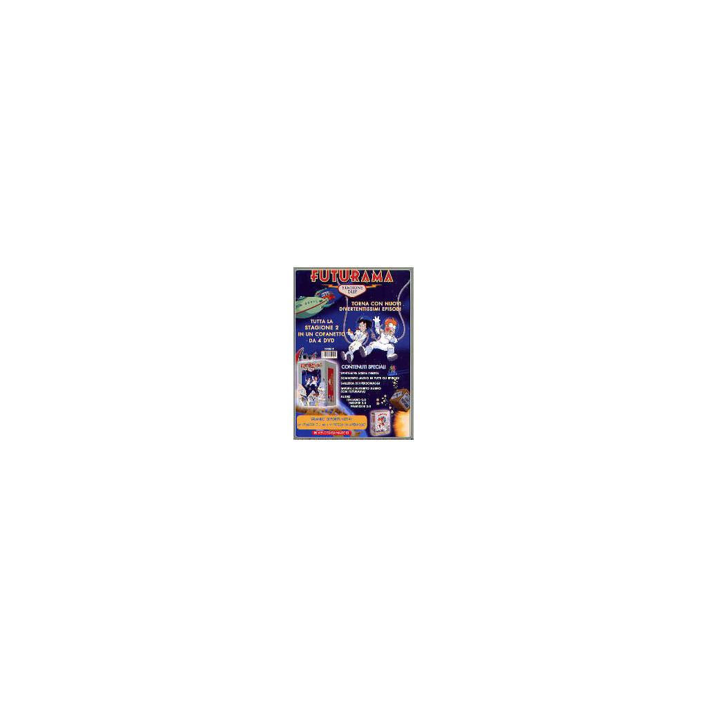 Futurama - Stagione 2 Box (4 dvd)