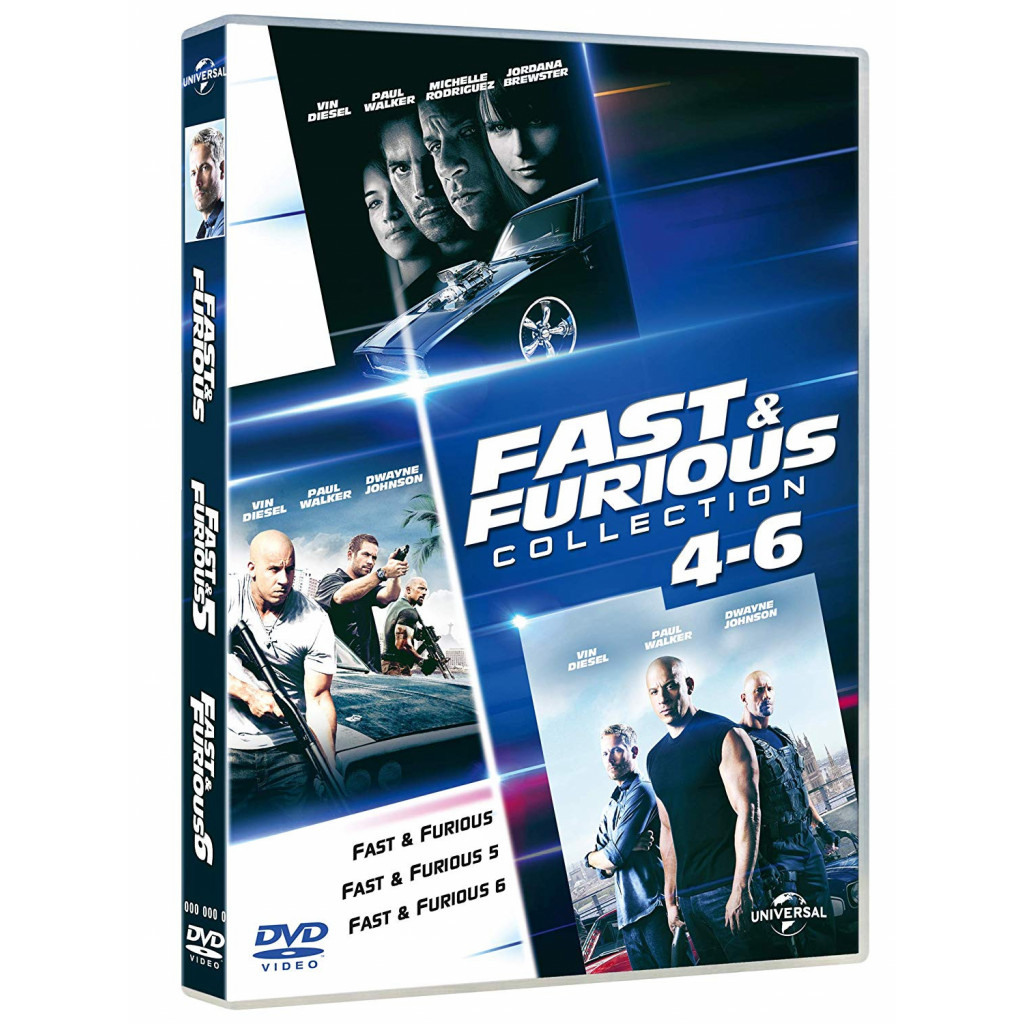 Fast and Furious 4-6 Family...