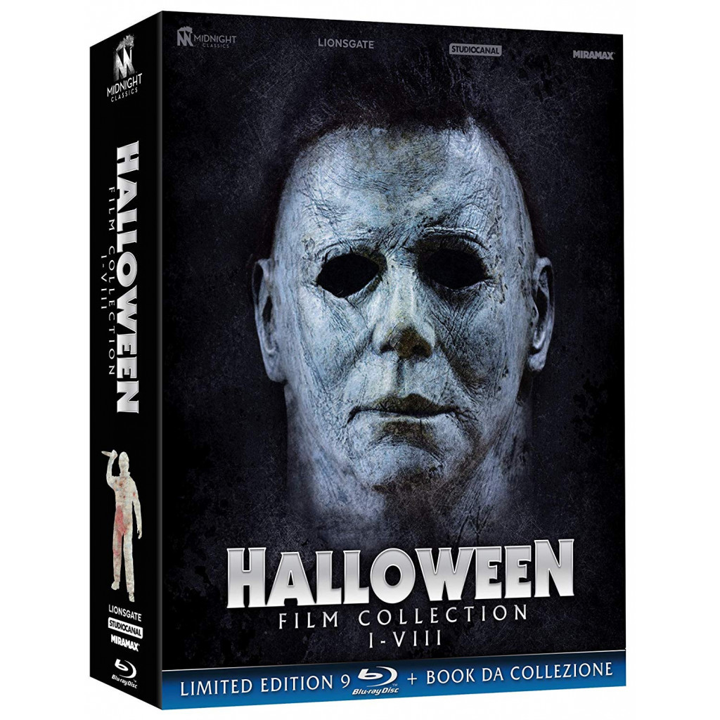 Halloween Film Collection (9 Blu Ray)