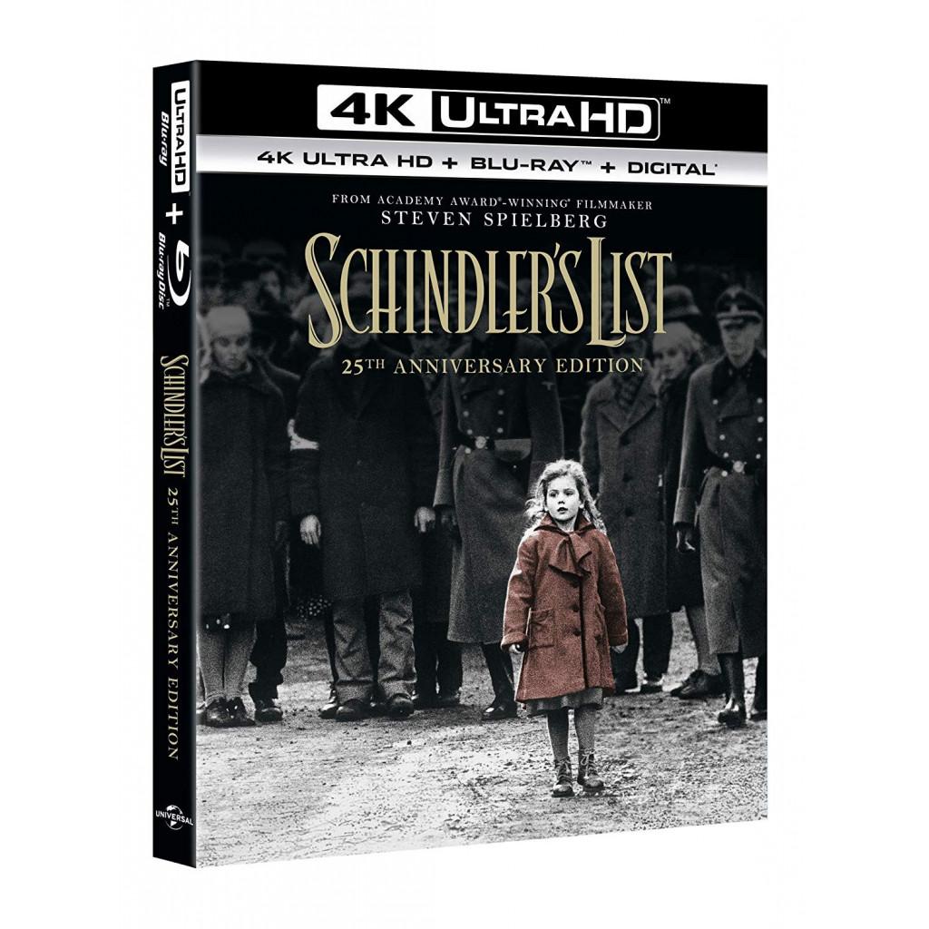 Schindler'S List (4K Ultra HD + Blu Ray)