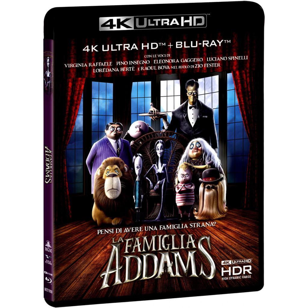 La Famiglia Addams (4K Ultra HD + Blu...
