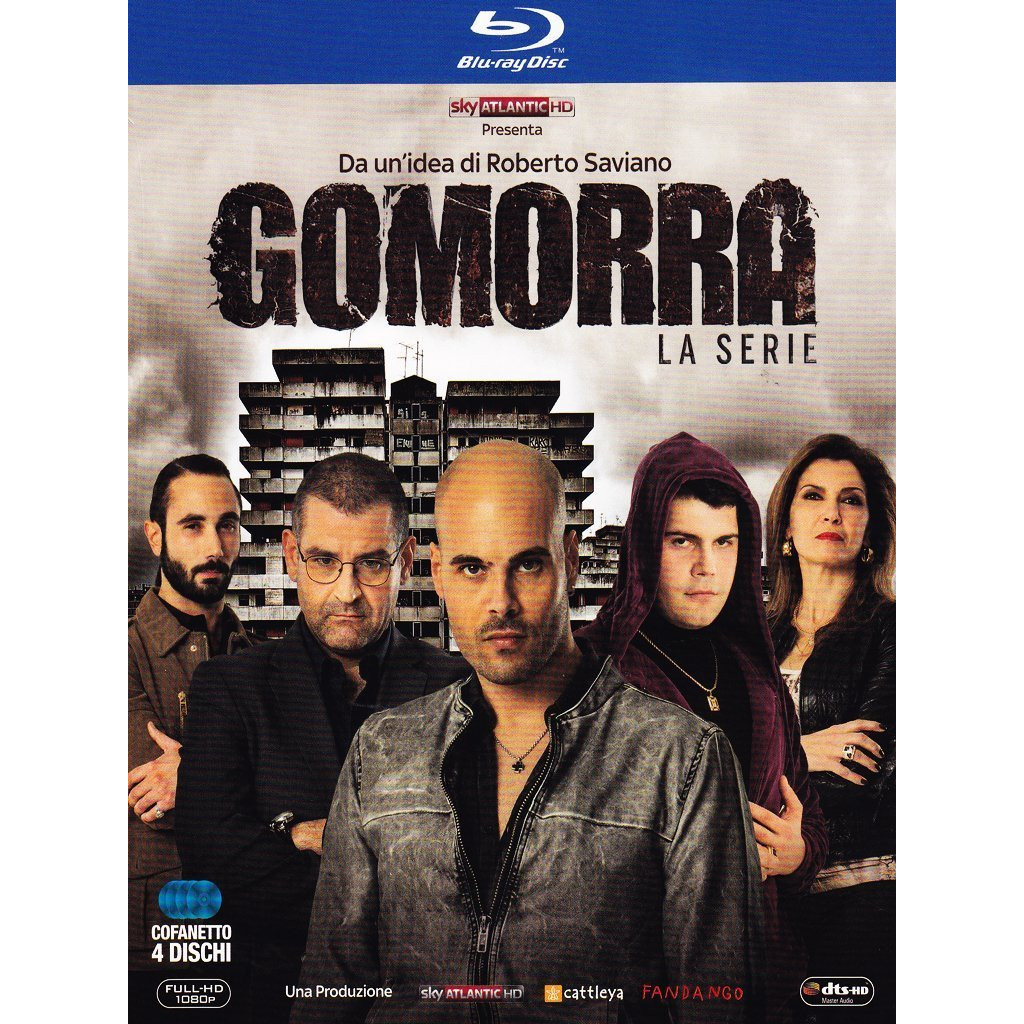 Gomorra La Serie - Stagione 1 (4 Blu...