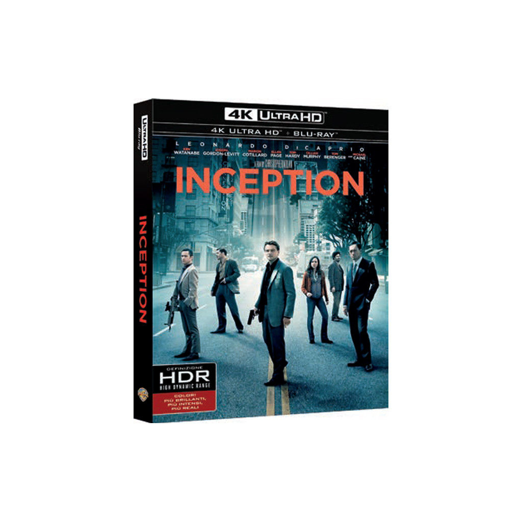 Inception (4K Ultra HD + Blu Ray)