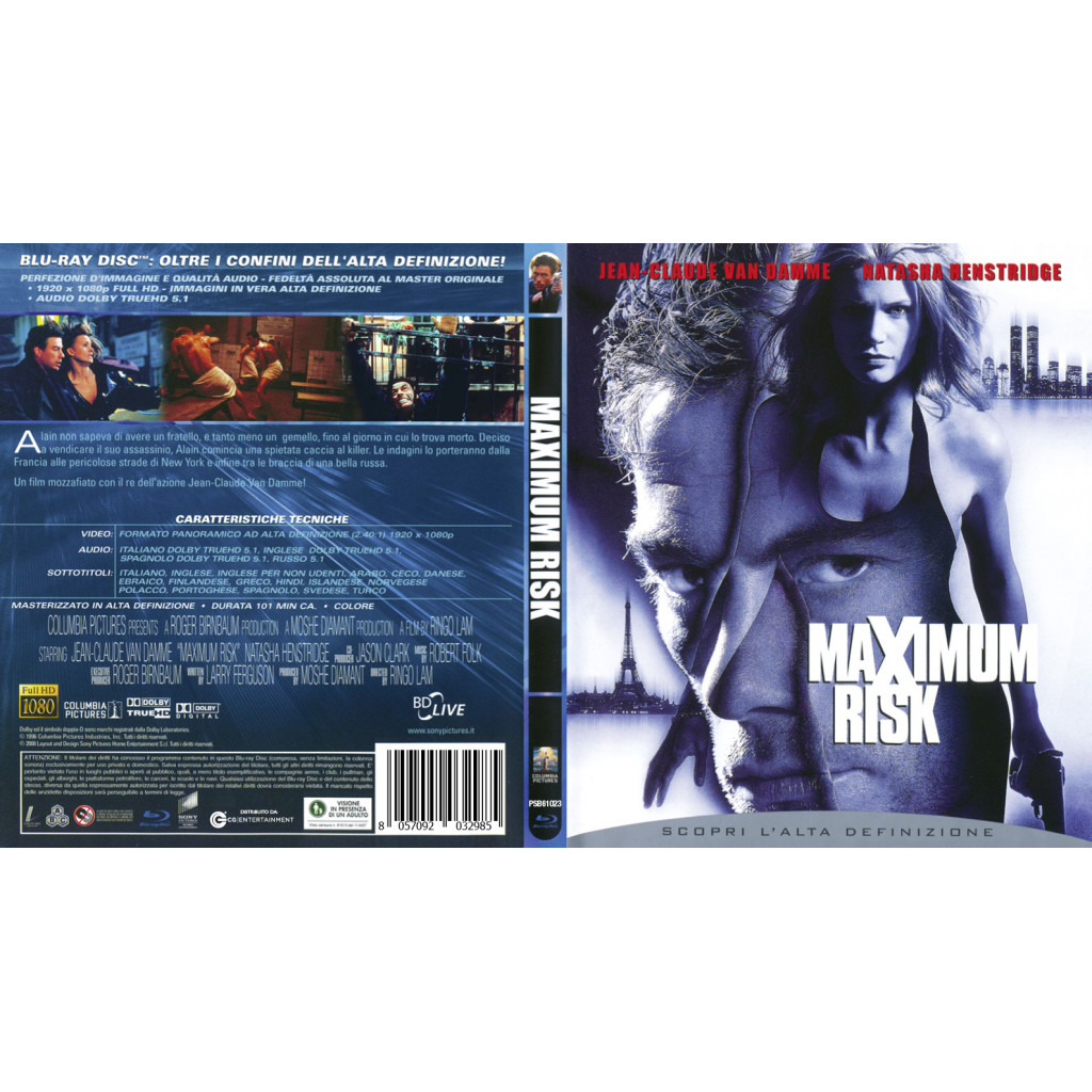 Maximum Risk (Blu Ray)