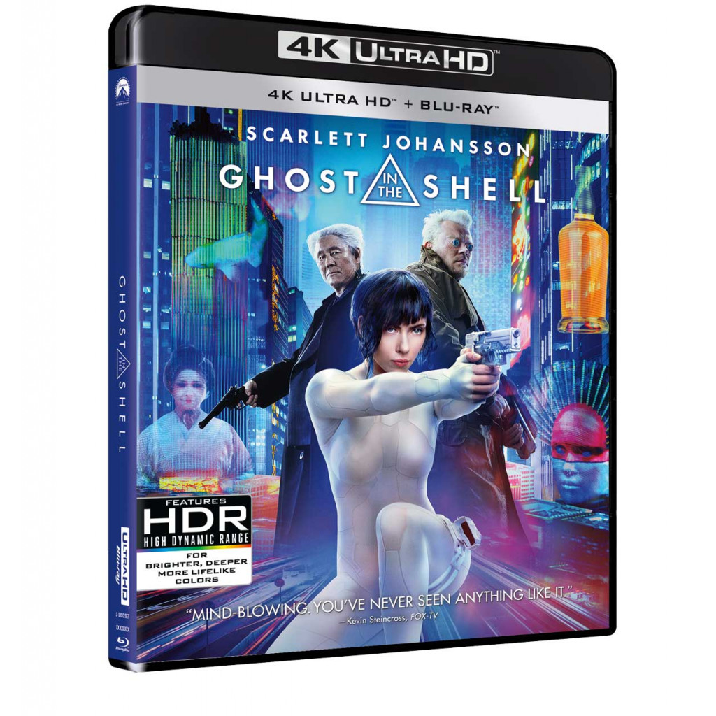 Ghost In The Shell (2017) (4K Ultra...
