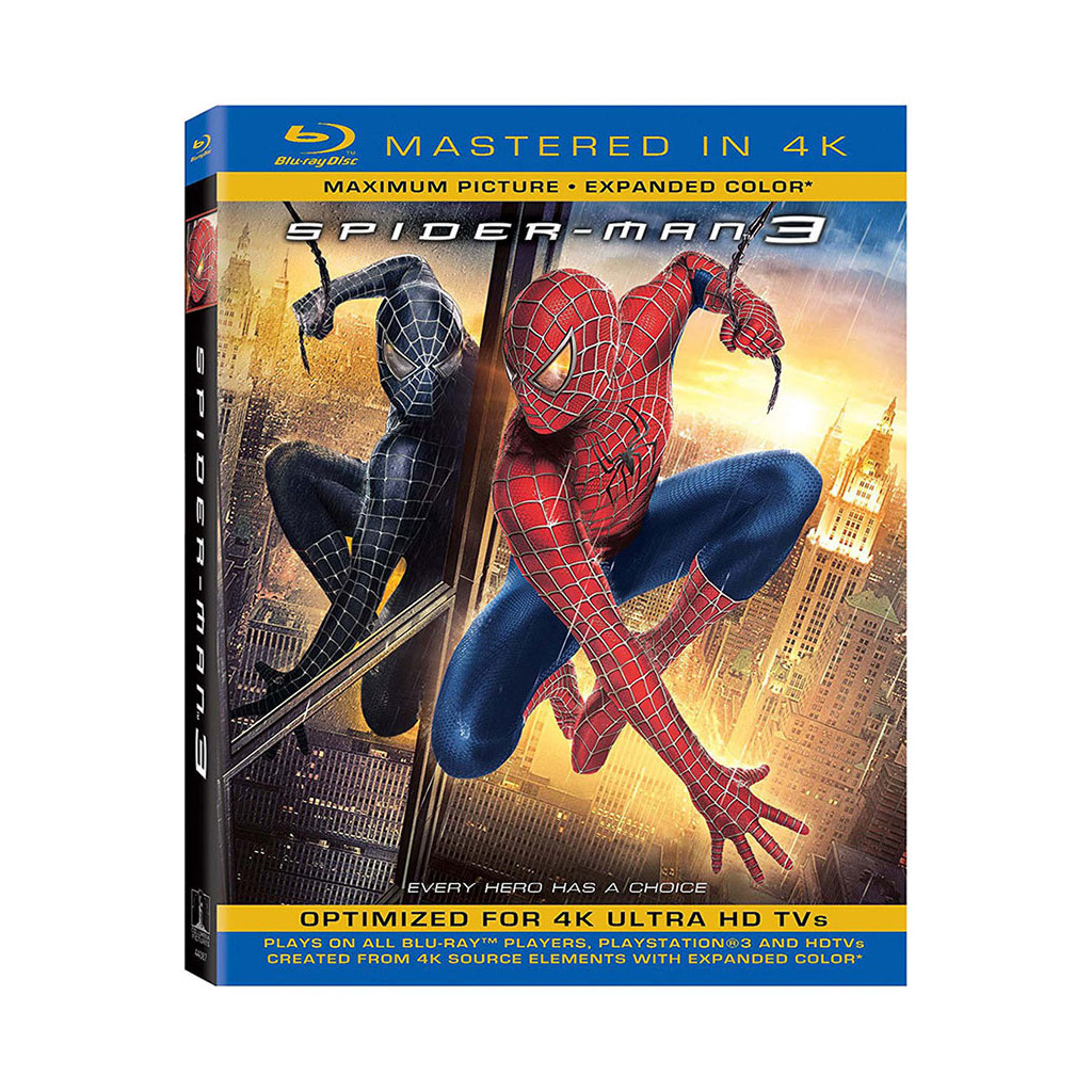 Spider-Man 3 (4K Ultra HD + Blu Ray)
