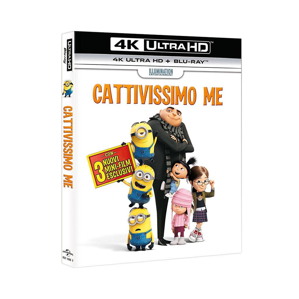 Cattivissimo Me (4K Ultra HD + Blu Ray)