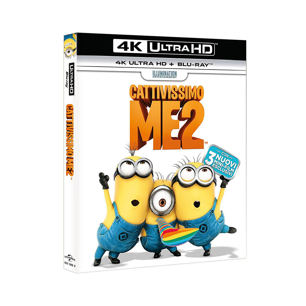 Cattivissimo Me 2 (4K Ultra HD + Blu...