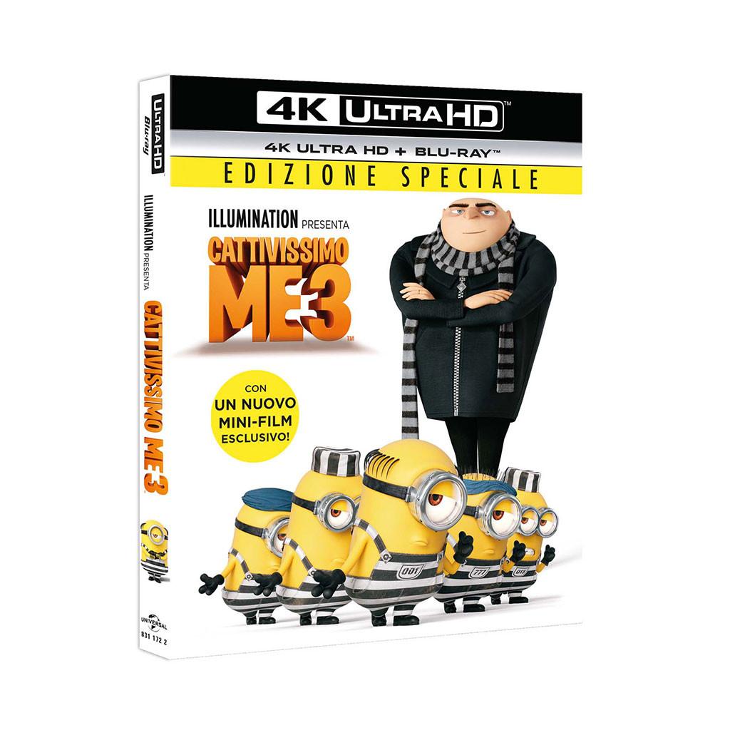 Cattivissimo Me 3 (4K Ultra HD + Blu...