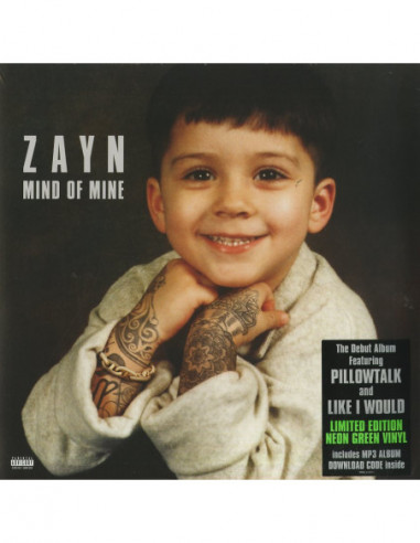 Zayn - Mind Of Mine (Deluxe Edt.)