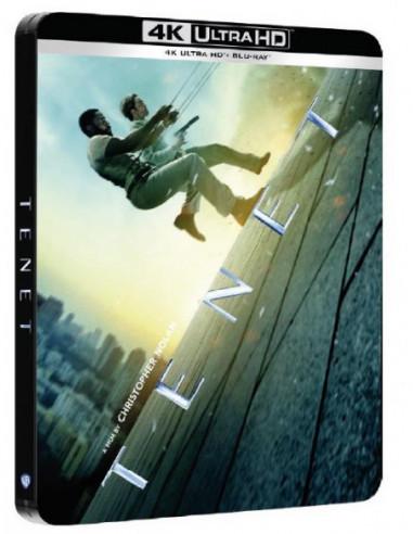 Tenet (4K Ultra Hd+2 Blu Ray) Steelbook