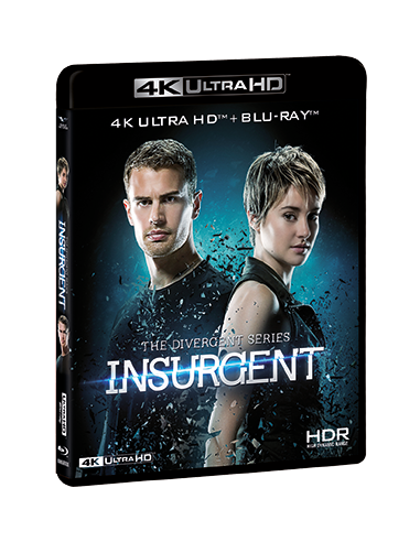 Insurgent (Blu-Ray 4K+Blu-Ray Hd)