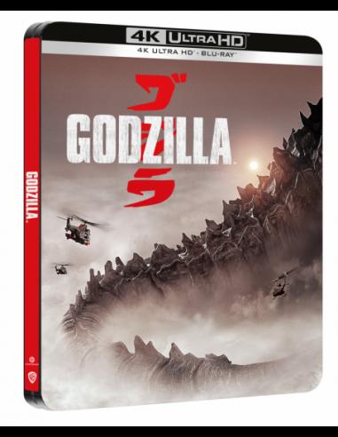 Godzilla (2014) (Steelbook) (4K Ultra...