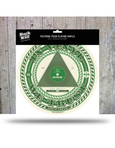 Rock On Wall In Vinyl We Trust -...