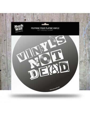 Rock On Wall Vinyls Not Dead -...