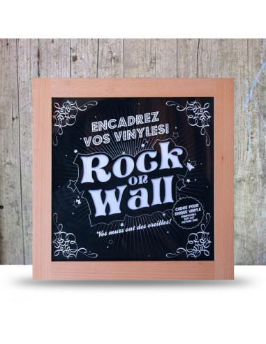 Rock On Wall - Cornice Per Lp (Marrone)