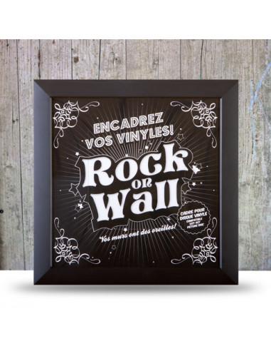 Rock On Wall - Cornice Per Lp (Nero)
