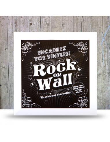 Rock On Wall Cornice Per Lp( Bianco)...